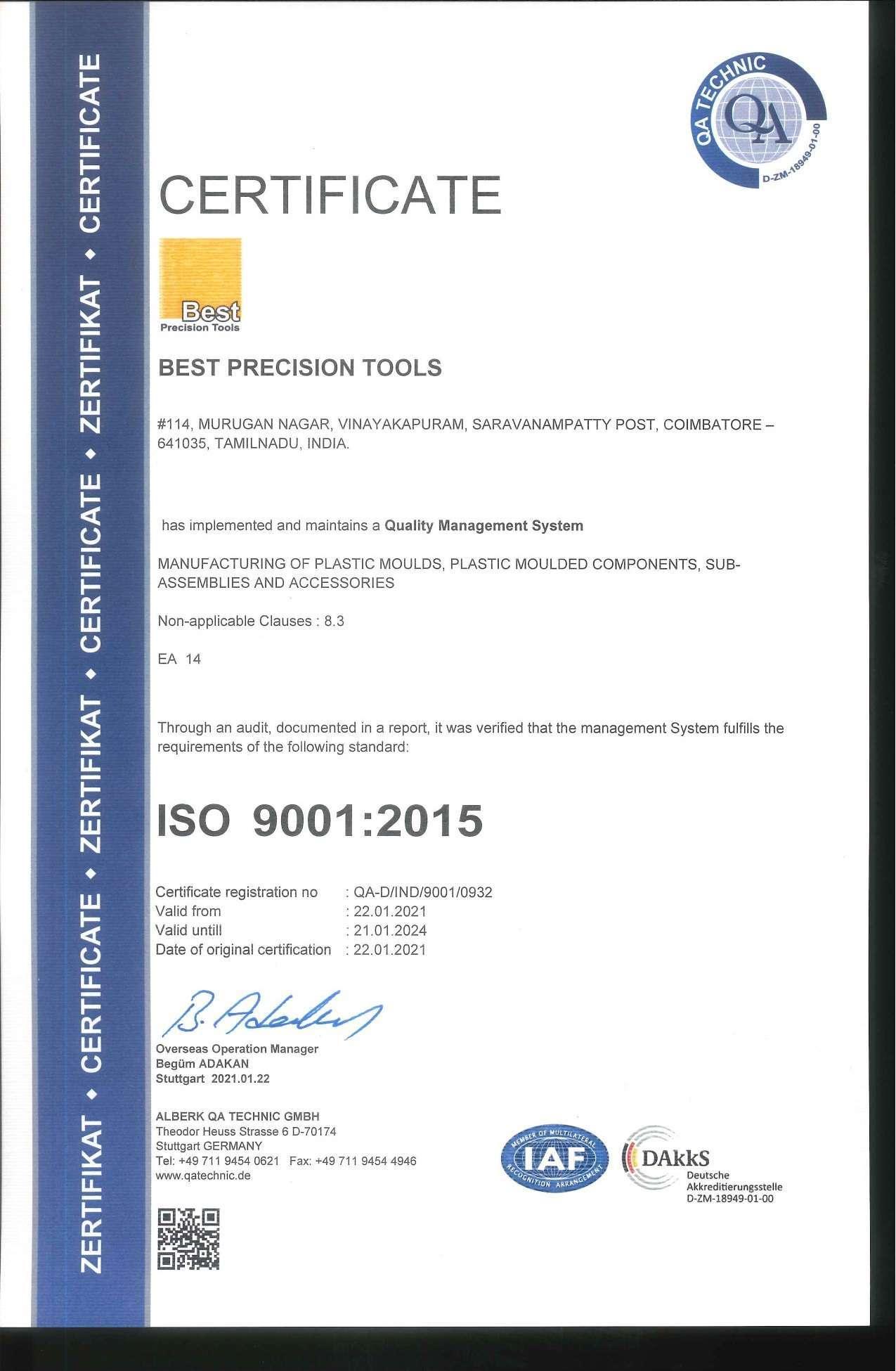 QA-D-IND-9001-0932-0001